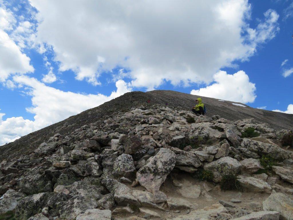 Quandary Peak, Colorado hiking, first 14er