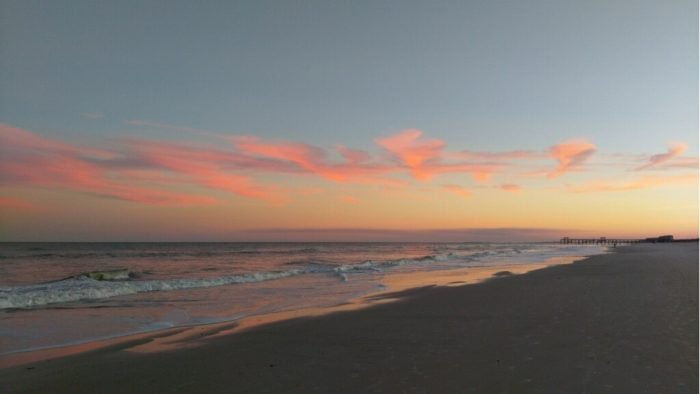 Fernandina Beach sunset.