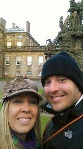 Palace of Holyroodhouse.