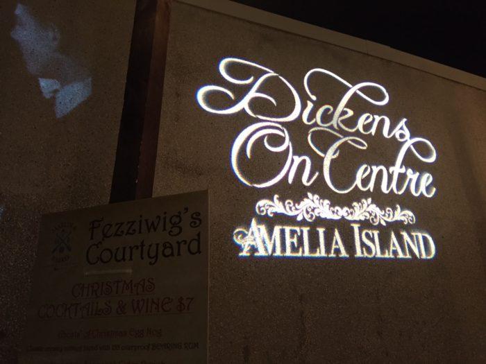 Dickens on Centre in downtown Fernandina Beach, FL.