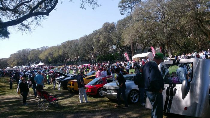 Coffee and Cars at Amelia Island Concours d'Elegance