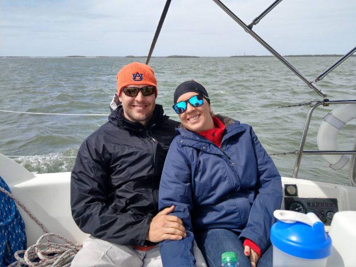 Sailing out of Fernandina Beach, FL