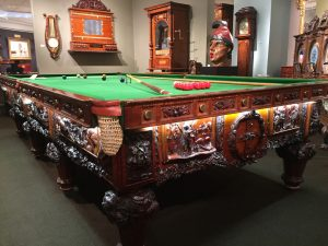 The History of Australia Billiard Table at M.S. Rau Antiques