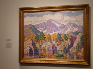 """Sven Birger Sandzen """"A Mountain Symphony,"""" Denver Art Museum"""