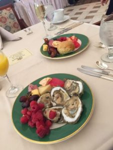 Sunday brunch at the Brown Palace Hotel. (Photo credit Chadd Scott / TRAVELING WITHOUT KIDS)