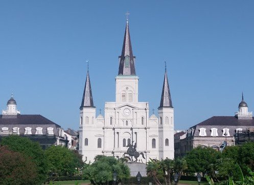 St. Louis Cathedral New Orleans.