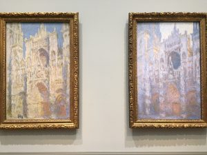 Cathedral at Rouen in National Gallery of Art