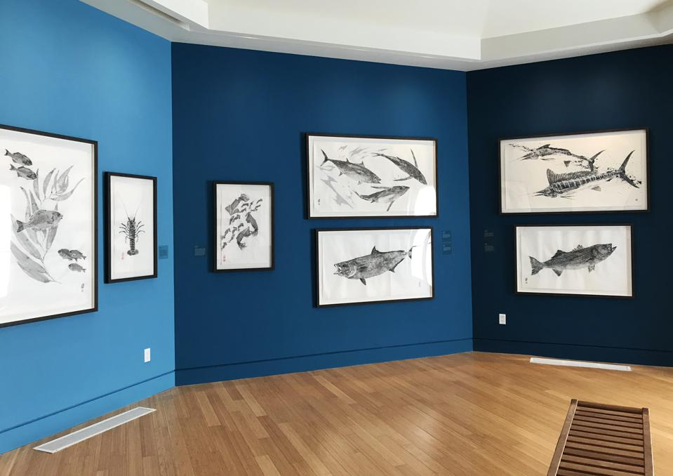 "Catalina Island Museum, ""Soot & Water"" exhibition gallery image. CATALINA ISLAND MUSEUM"
