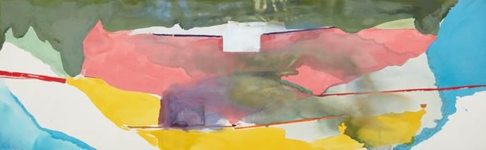 Helen Frankenthaler, 'Off White Square,' 1973.