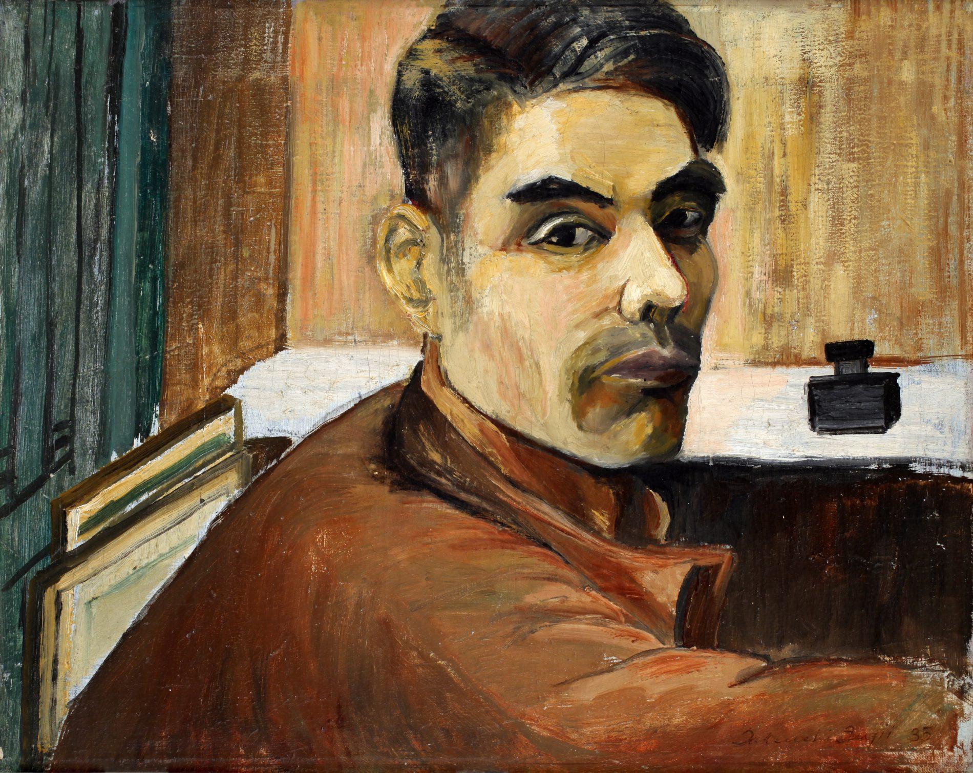 Takuichi Fujii, Self Portrait, 1935