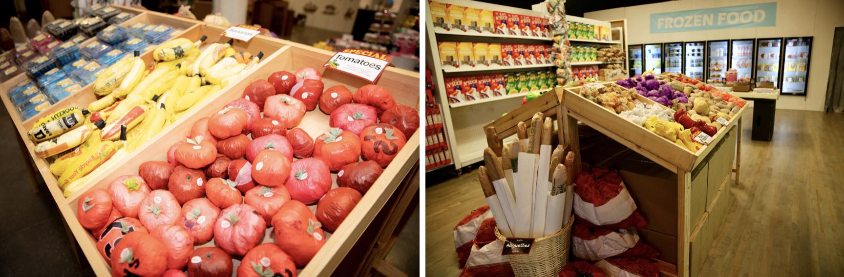 The Plastic Bag Store. Photo by Maria Baranova-Suzuki. Courtesy of Times Square Arts.