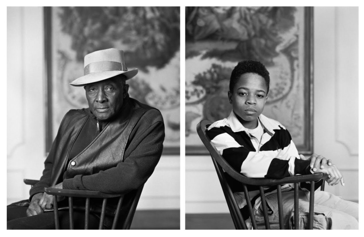 "Image: Dawoud Bey, Fred Stewart II and Tyler Collins, from the series ""The Birmingham Project,"" 2012. Archival pigment prints mounted on Dibond, 40 x 64 in (101.6 x 162.6 cm). © Dawoud Bey. Courtesy Rena Bransten Gallery, San Francisco, CA and Rennie Collection, Vancouver"