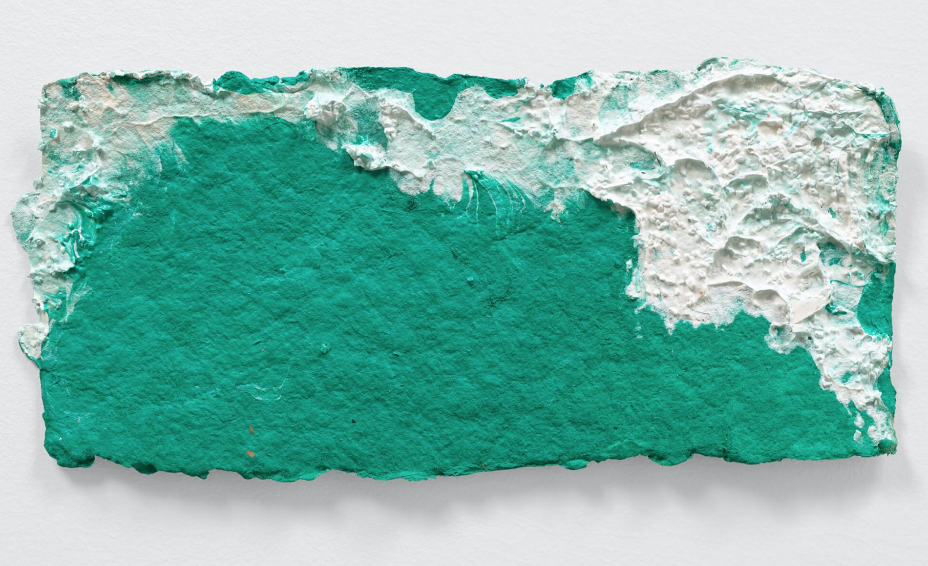 Mary Heilmann, 'Mighty Right,' 2020, acrylic on paper.