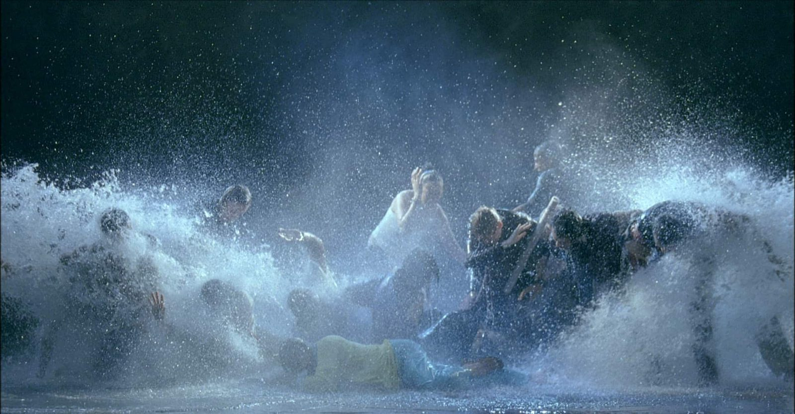 Bill Viola, The Raft, May 2004. Video/sound installation. Photos: Kira Perov. Courtesy Bill Viola Studio, James Cohan Gallery, New York and American Federation of Arts.