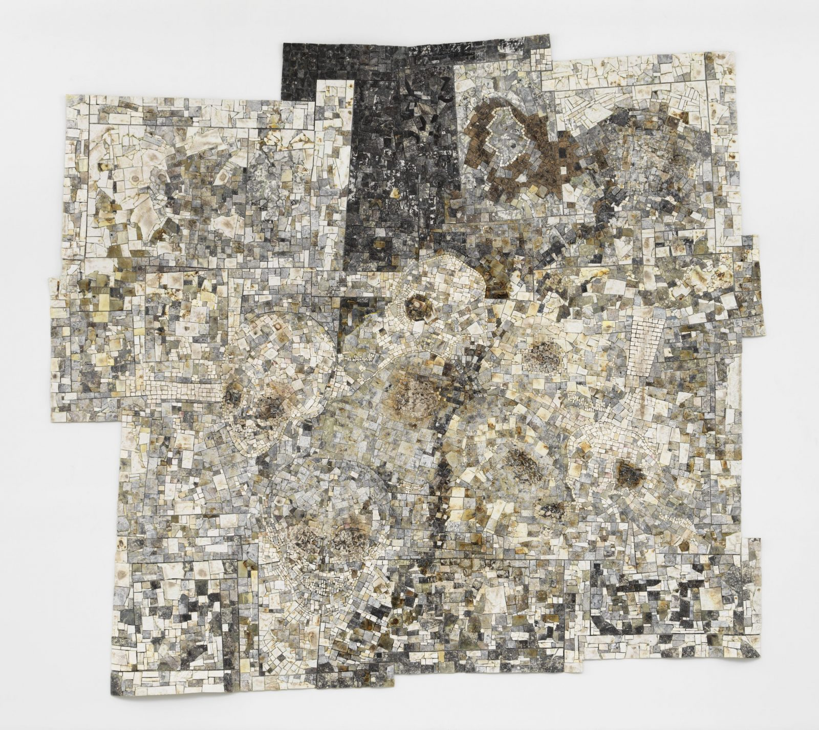 Jack Whitten, 'Memory Sites,' 1995. Acrylic on Canvas. 126 x 140 inches. (c) Jack Whitten Estate. Courtesy of the Jack Whitten Estate and Hauser & Wirth. Photo: Dan Bradca.