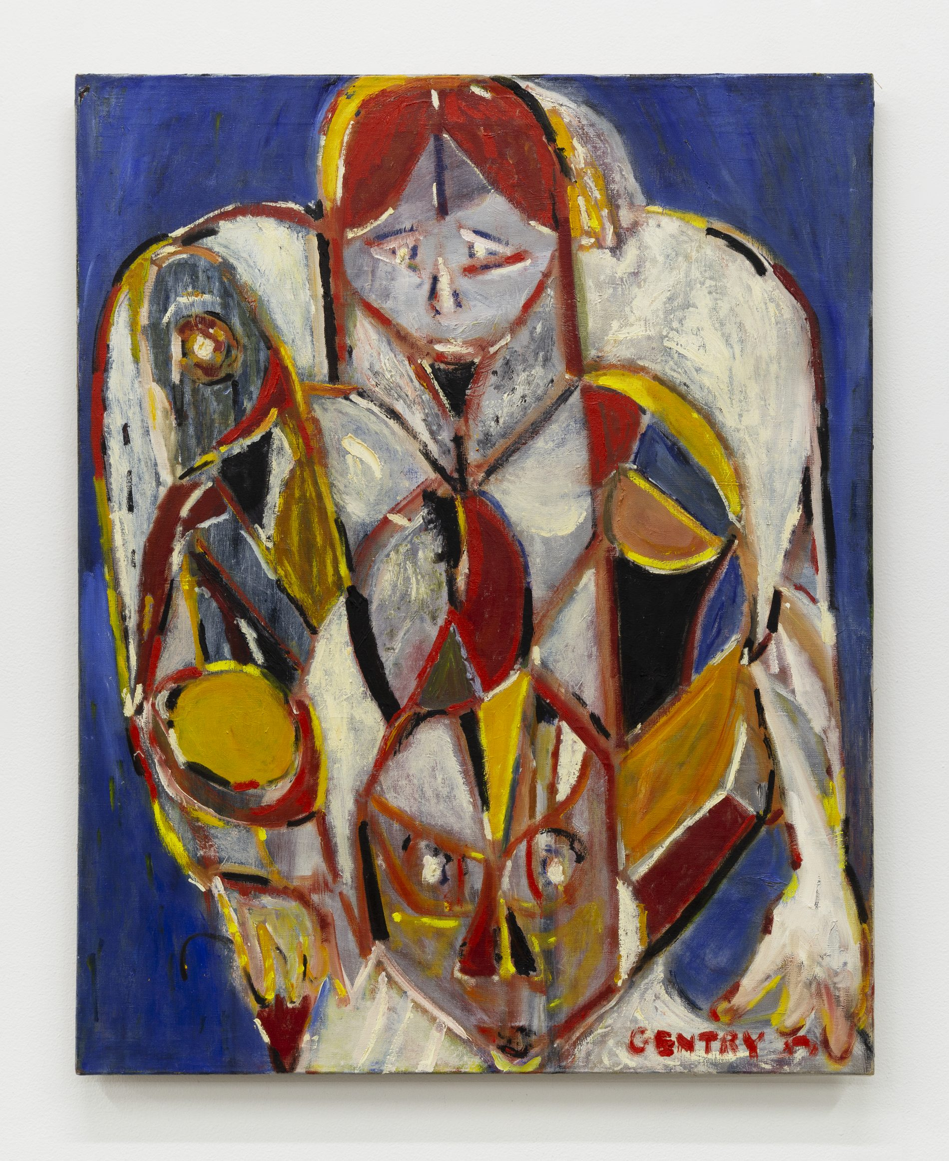 'Mask (Woman with Child),' Herbert Gentry.