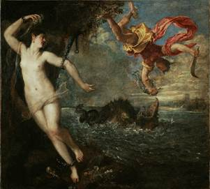 Titian (Italian, 1488-1576), Perseus and Andromeda, 1556. Wallace Collection, London.