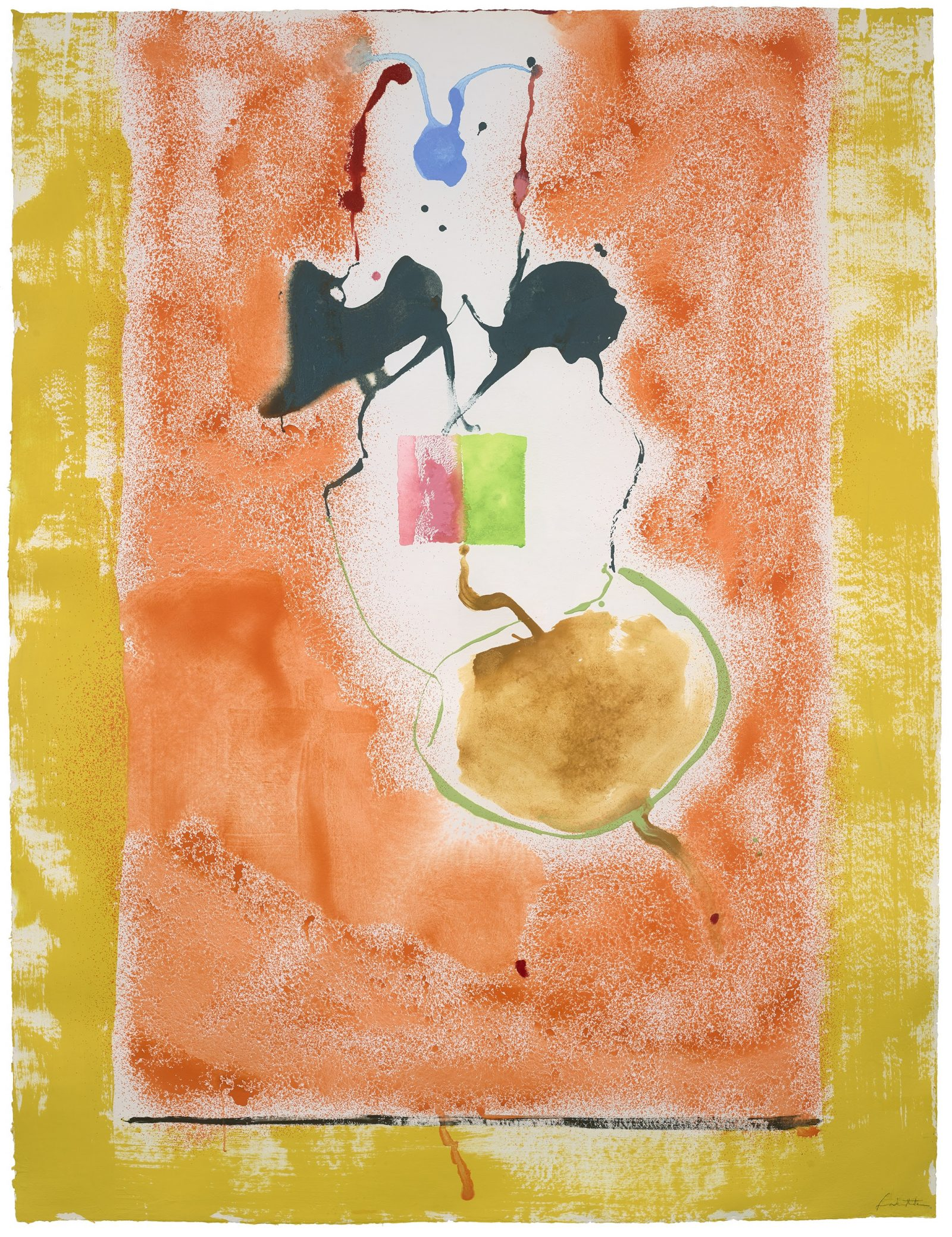 Helen Frankenthaler, Solar Imp, 1995 Collection: Helen Frankenthaler Foundation © 2020 Helen Frankenthaler Foundation, Inc. / Artists Rights Society (ARS), New York