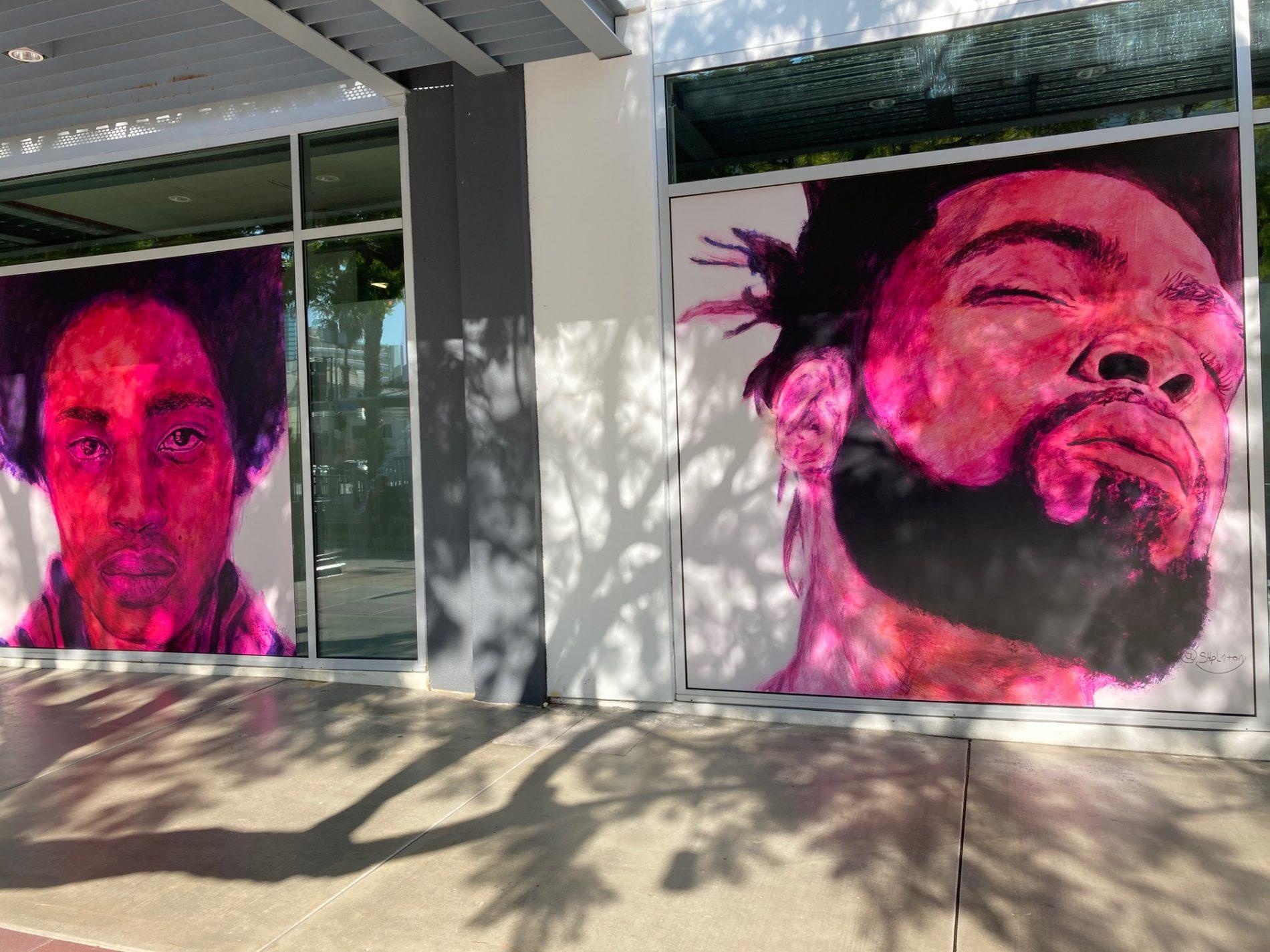 Santa Monica Art of Recovery project, artwork by SHpLinton.
