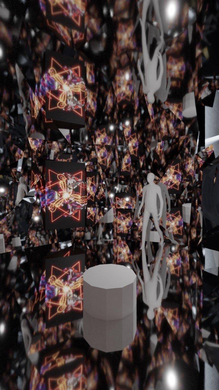 "Adrian Stein ""Quantum Mirror"" rendering."
