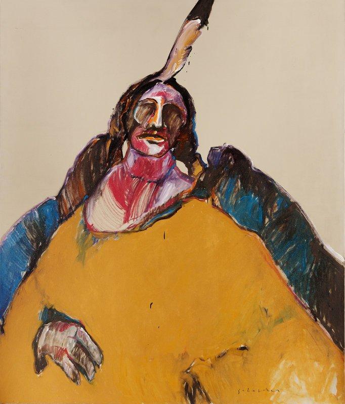 Fritz Scholder, 'Indian Messiah, 1975'
