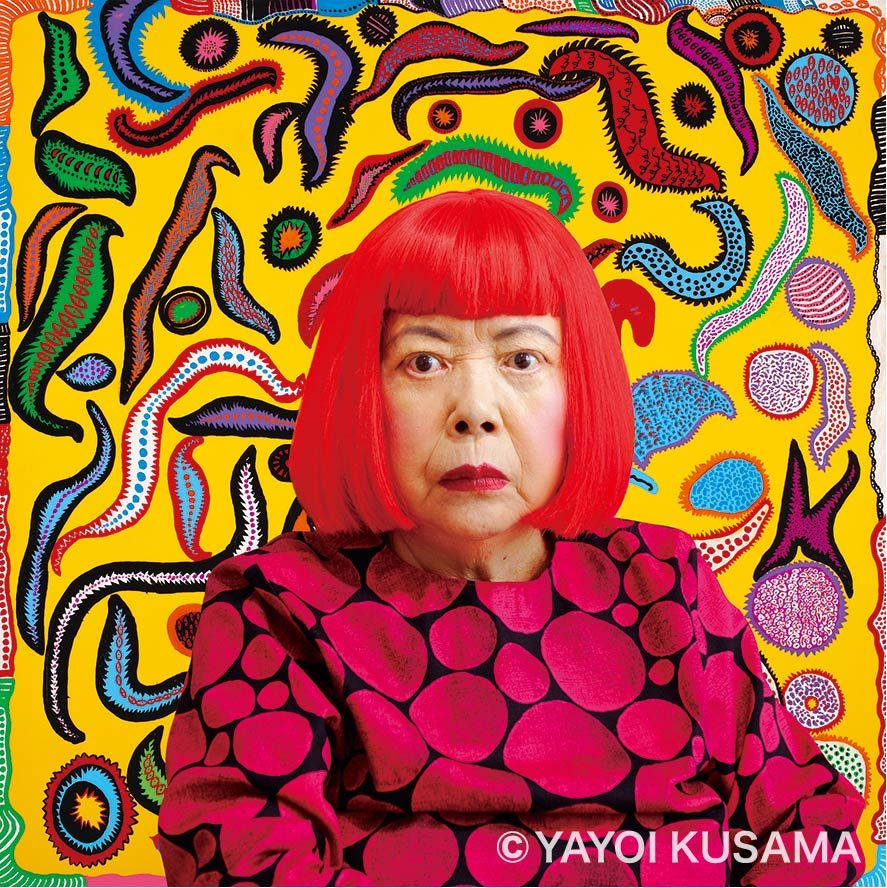Kusama at McNay Art Museum. Yayoi Kusama, Courtesy of the artist, Ota Fine Arts and Victoria Miro