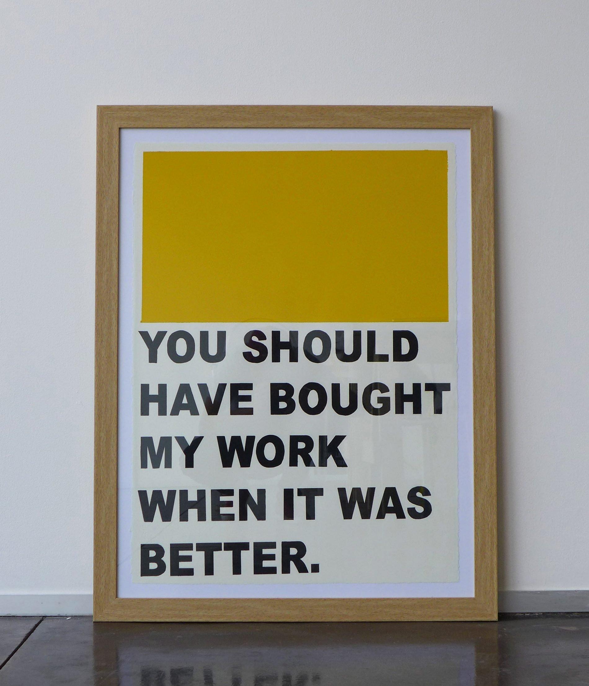 Nicolas Vander Biest. When It Was Better, 2020, acrylic on paper, 19.7 x 27.5 in (50 x 70 cm)