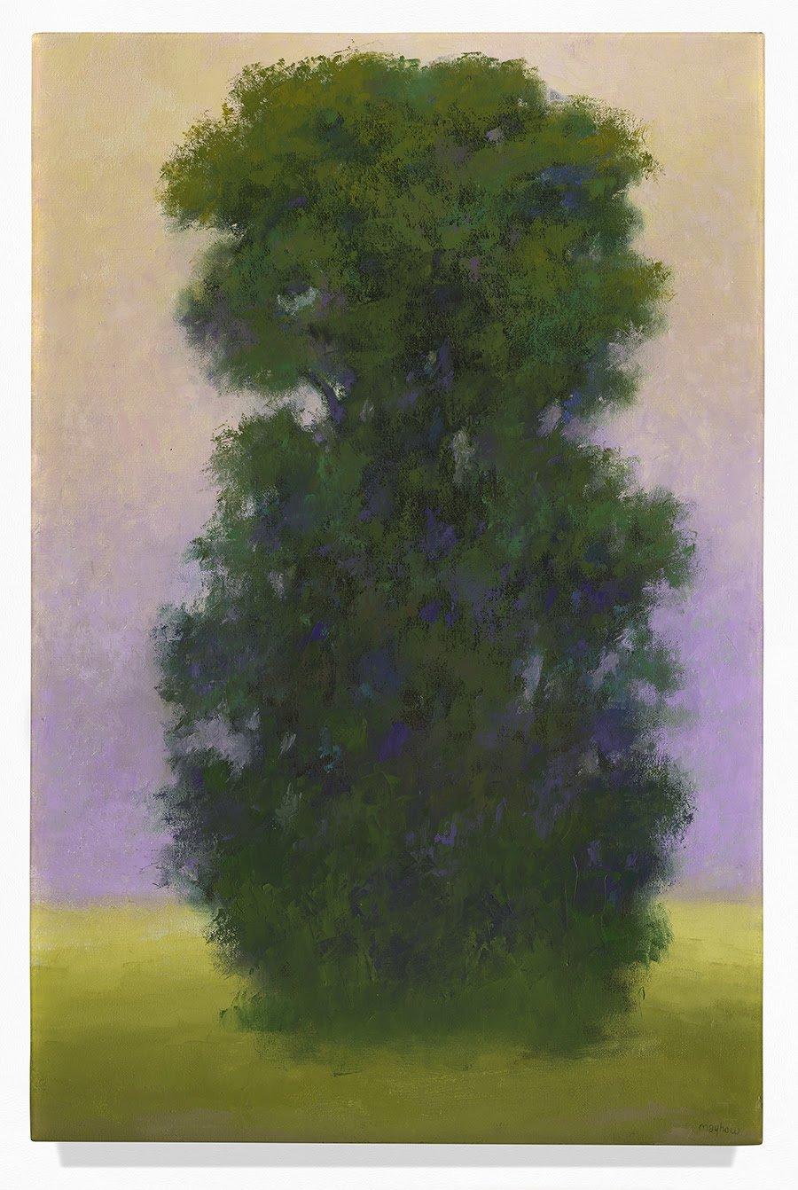 Richard Mayhew, Perennial Sentinel, 2000; San Francisco Museum of Modern Art, gift of the Joyner/Giuffrida Collection; © Richard Mayhew