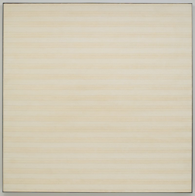 Agnes Martin, Desert Flower, 1985 © Estate of Agnes Martin /Artists Rights Society (ARS), New York