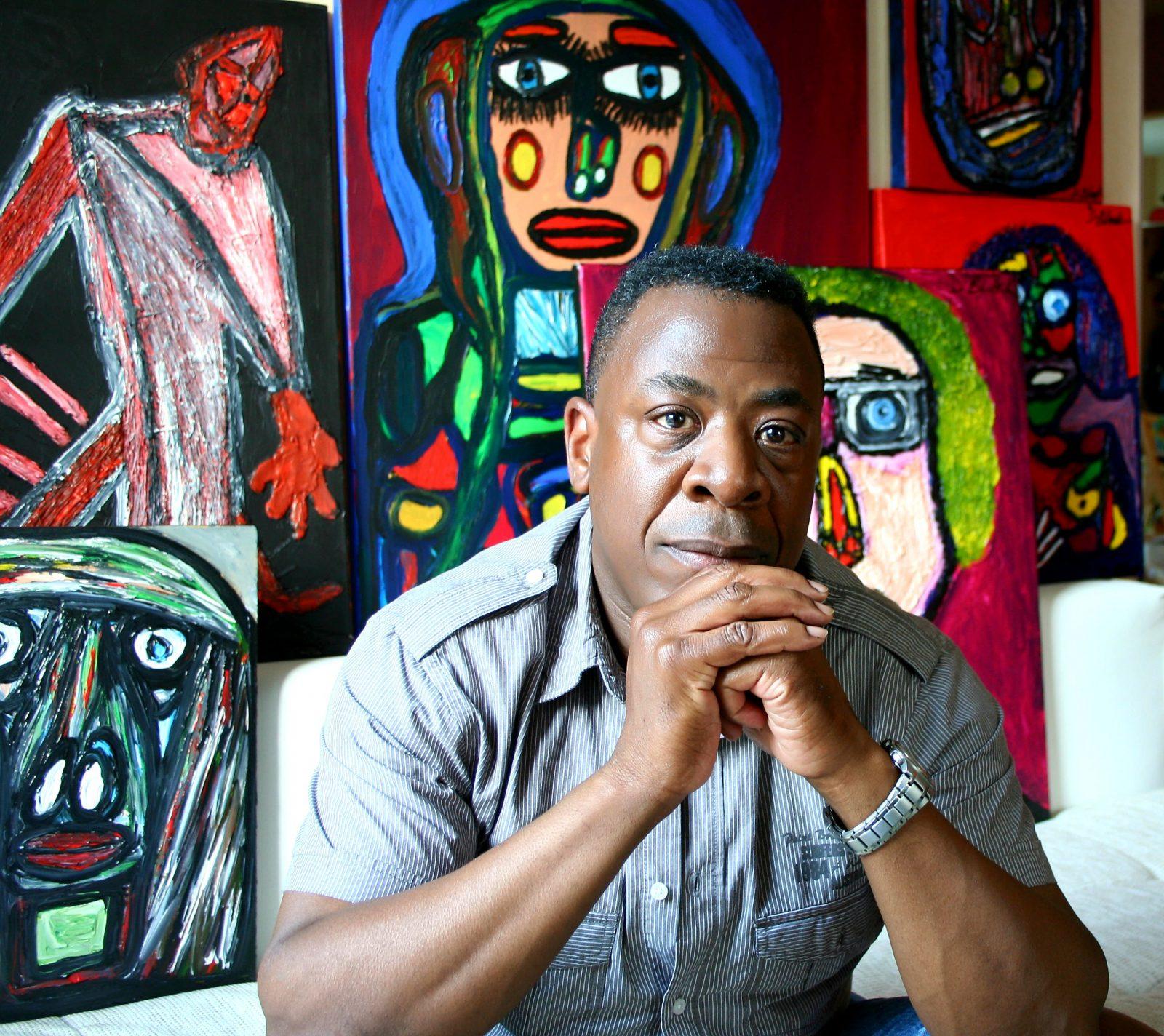 Artist Darrell Black