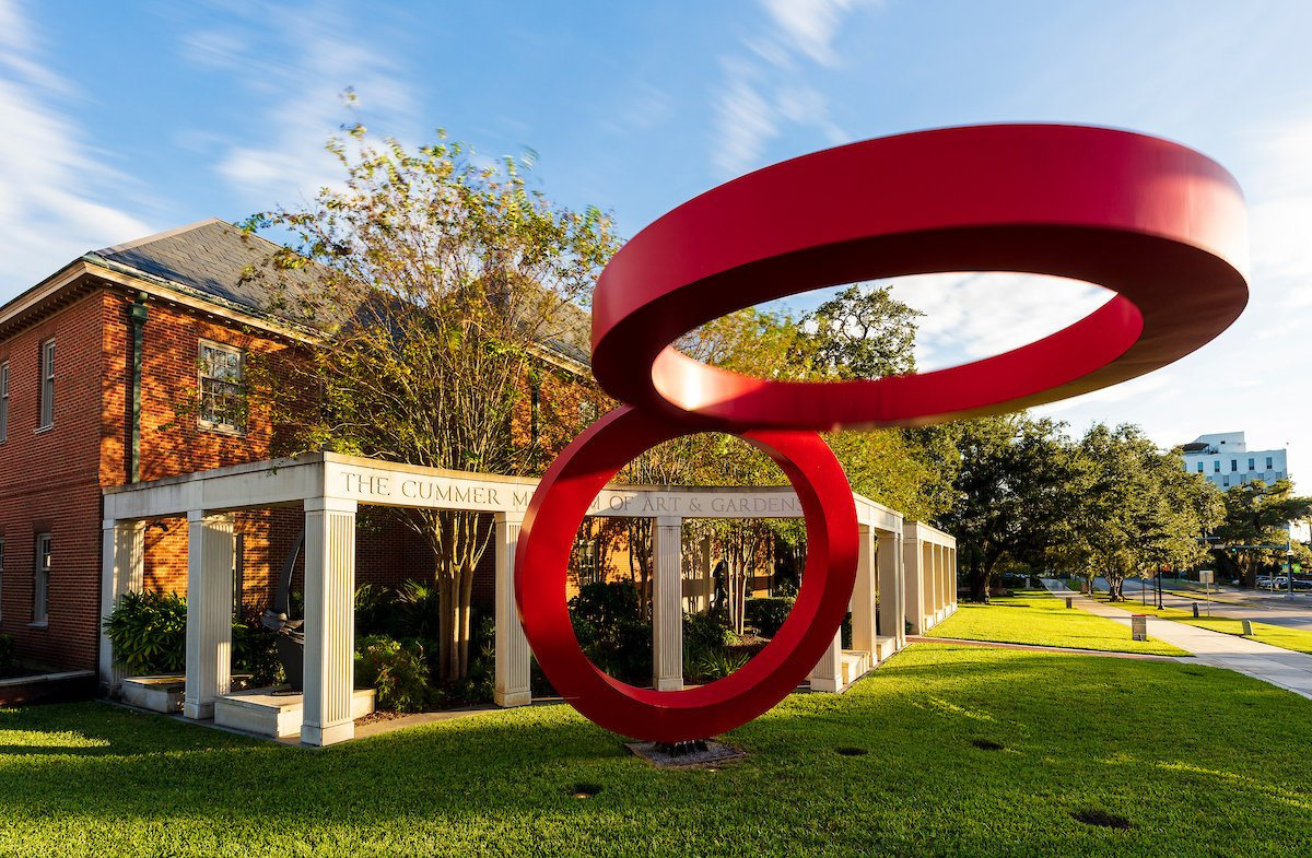 Exterior of the Cummer Museum Jacksonville