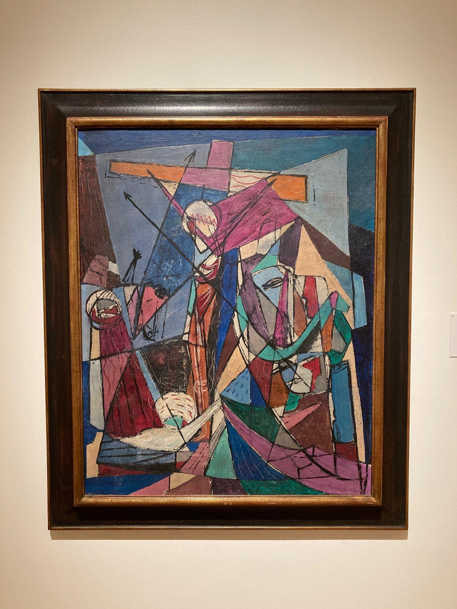 Romare Bearden, 'Passion of Christ,' (1945). Cummer Museum of Art and Gardens.