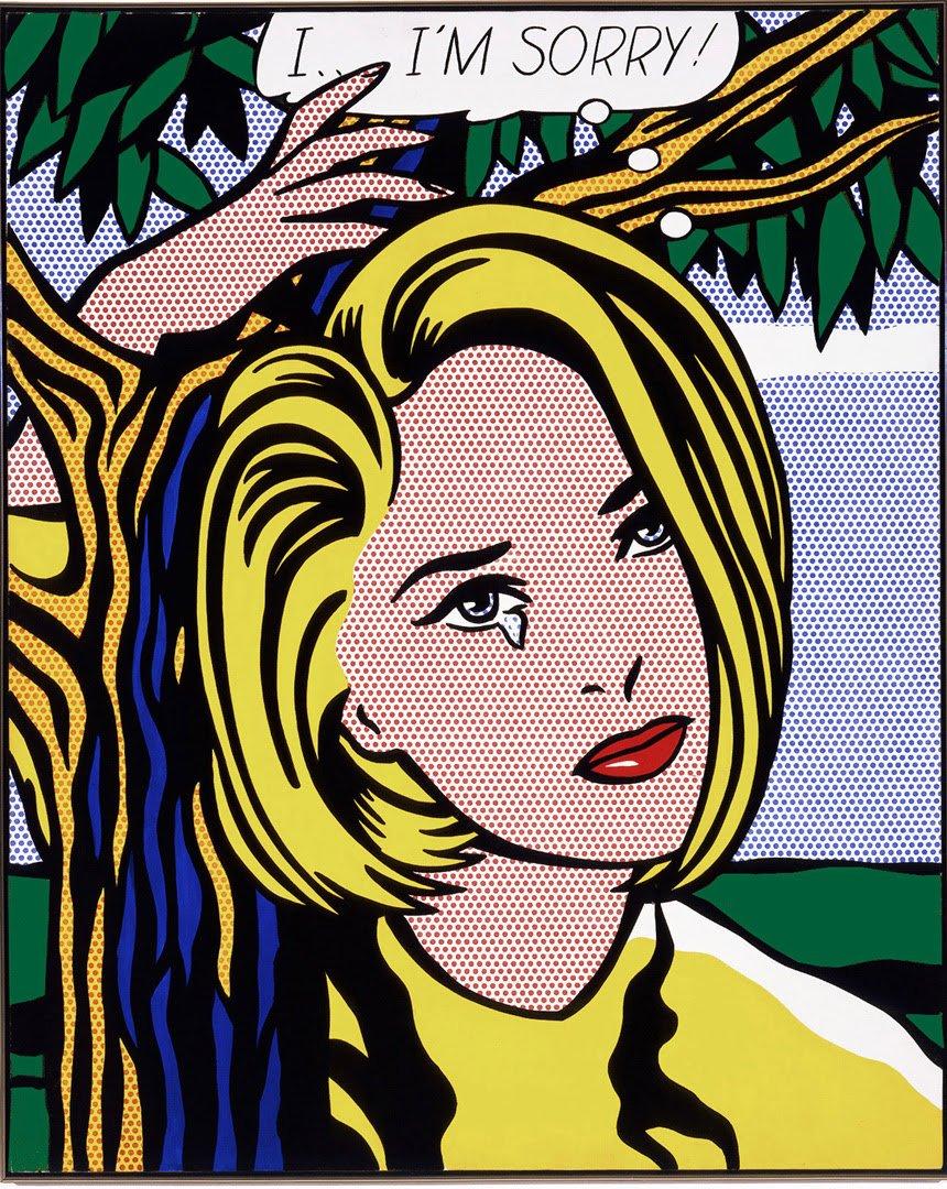 I…I'm Sorry, 1965-66; © Estate of Roy Lichtenstein. Photo by Douglas M. Parker Studio, Los Angeles
