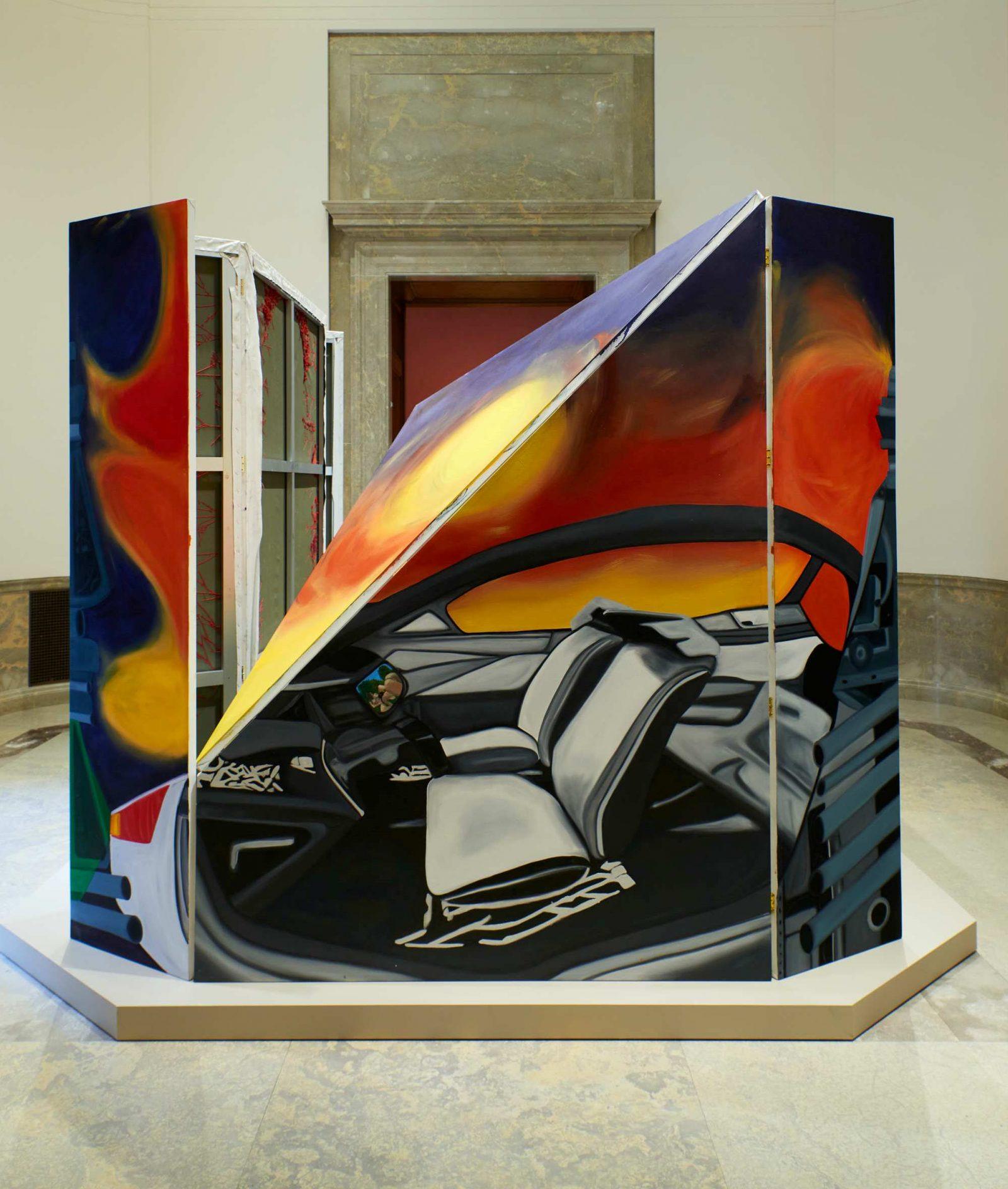 Frieda Toranzo Jaeger, The Perpetual Sense of Redness, 2021, Baltimore Museum of Art.