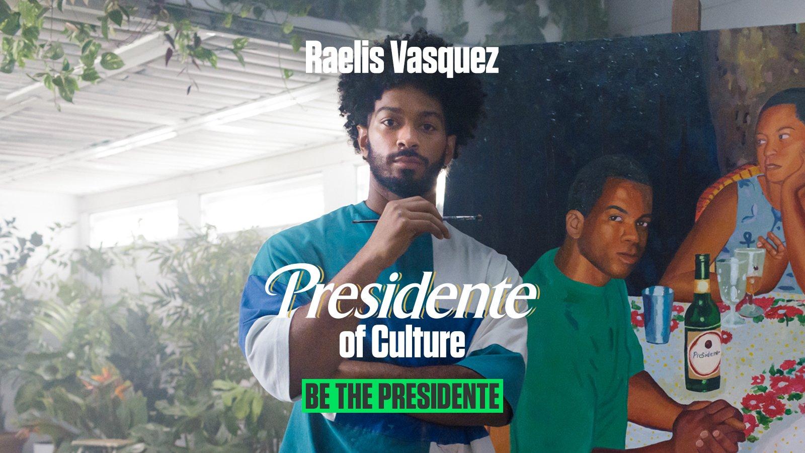 Raelis Vasquez for Presidente