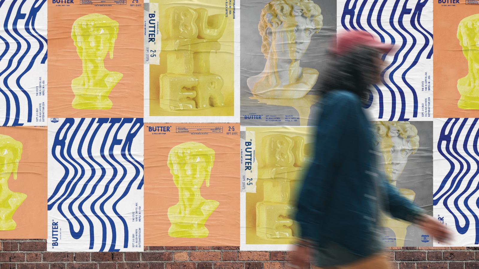 Gangland BUTTER Art Fair posters