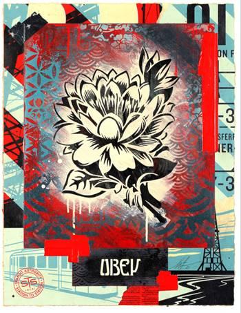Shepard Fairey, Elysium Lotus