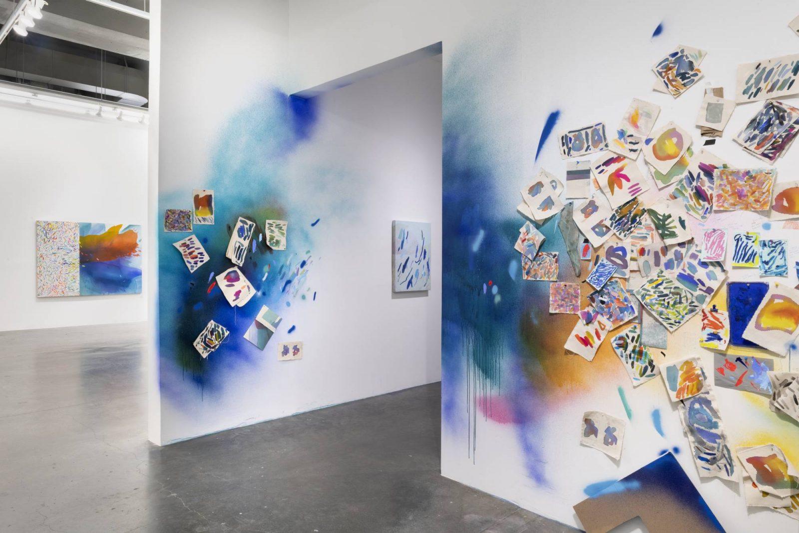 "Heather Day, Convergence,"" Installation image by Adam Reich, courtesy of Anna Zorina Gallery"