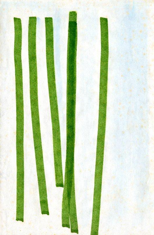Dusti Bongé, Soccas Farm, 1979. Felt tip pen on paper, 5x8 inches. Dusti Bongé Art Foundation.