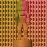 Daniel Kauwila Mahi. Kuikawalakii, 2021. 3-D printed sculpture. Image courtesy of the artist.