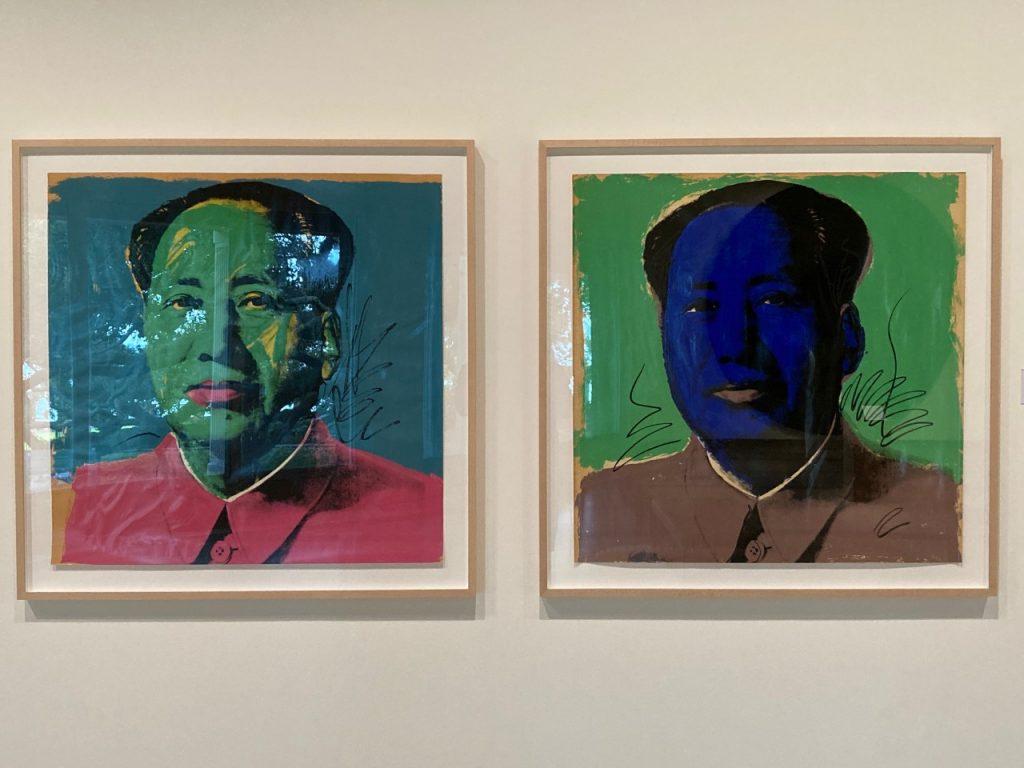 Andy Warhol, Mao, set of 10, 1972. Silkscreen on paper. Cummer Museum of Art and Gardens.