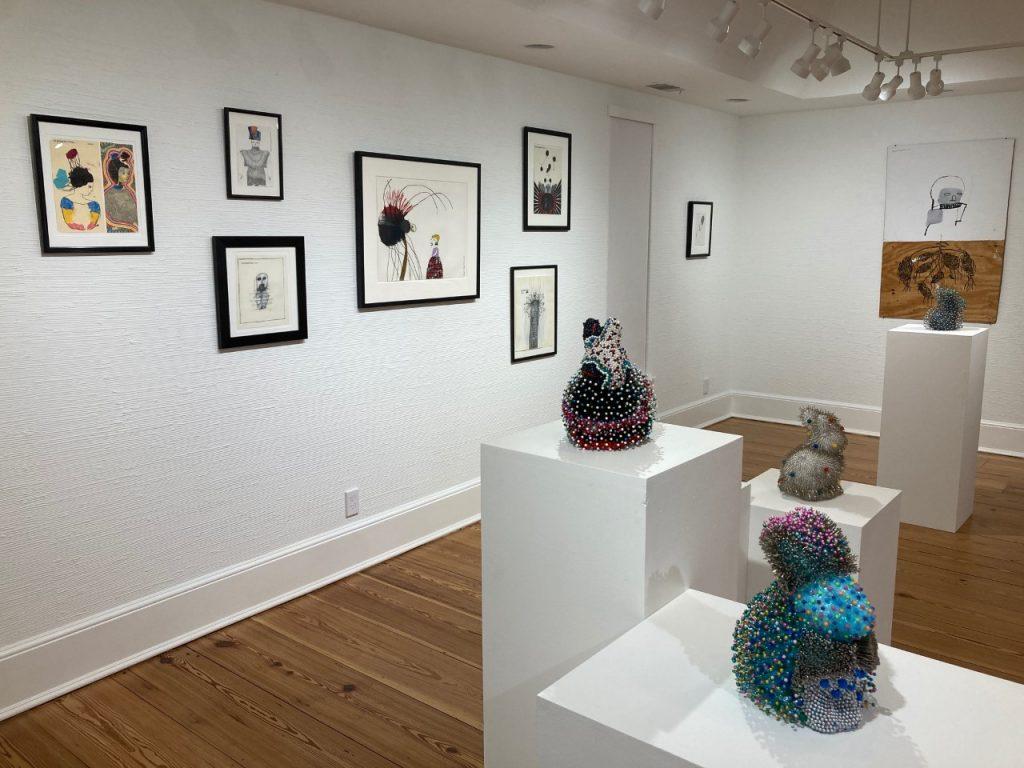 Benjamin Jones exhibition installation view at Laney Contemporary in Savannah, GA