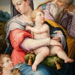 Giorgio Vasari, The Holy Family with the Infant St. John the Baptist, 1540, oil on panel. Cummer Museum of Art and Gardens.