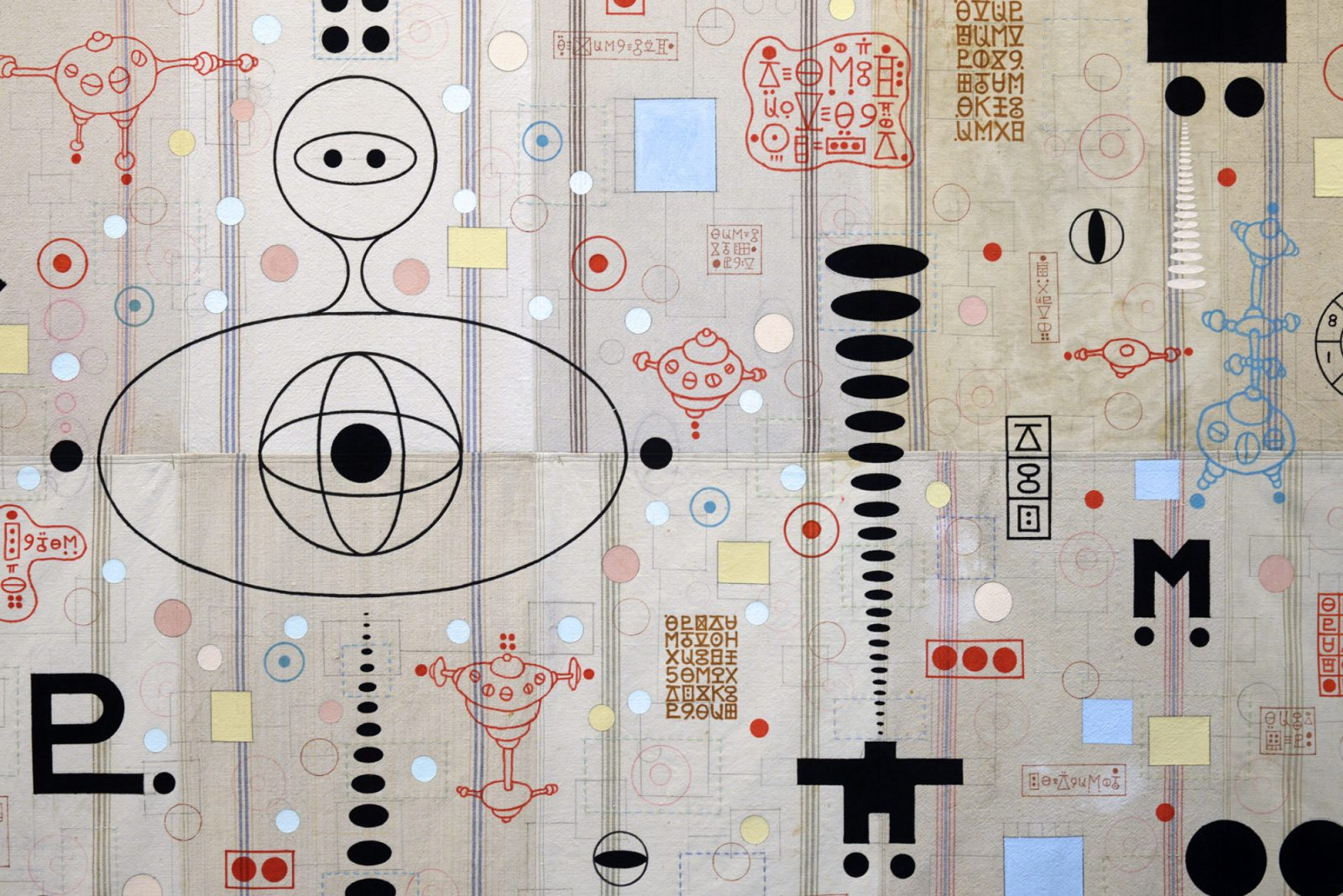 Karla Knight, Tapestry, detail, 2020. Courtesy of the artist.