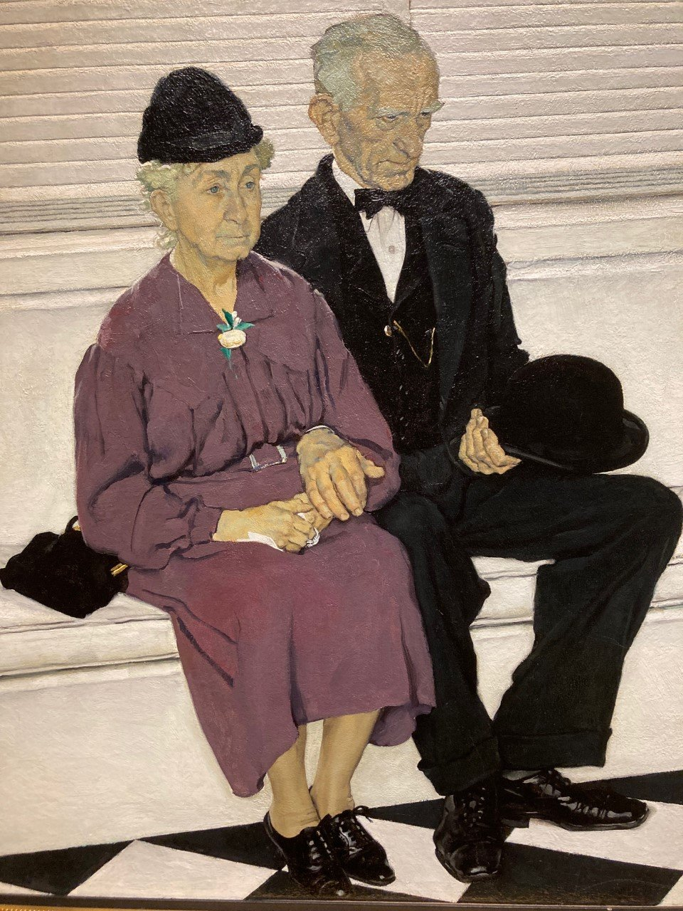 Norman Rockwell, Second Holiday, (detail) 1939. Oil on canvas. Cummer Museum of Art and Gardens.