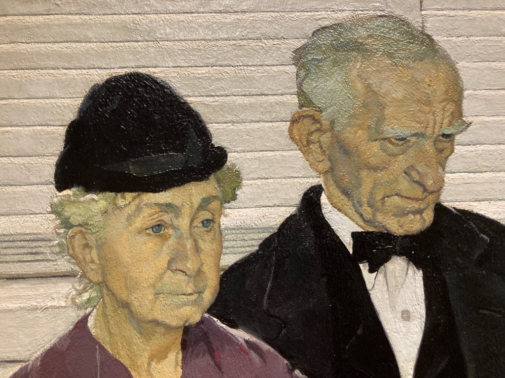 Norman Rockwell, Second Holiday, (detail, faces) 1939. Oil on canvas. Cummer Museum of Art and Gardens.